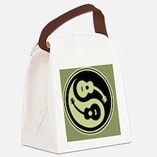 guit-yang1-grn-OV Canvas Lunch Bag