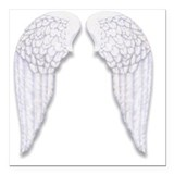 Angel wings Car Magnets