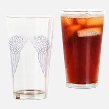 angel wings Drinking Glass