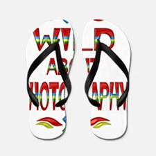 Wild About Photography Flip Flops