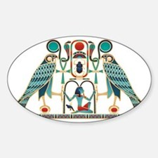 Egyptian Horus Falcons Decal