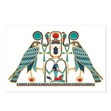 Egyptian Horus Falcons Postcards (Package of 8)