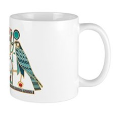 Egyptian Horus Falcons Small Mug