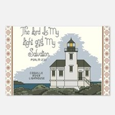 Coquille River Lighthouse Postcards (Package of 8)