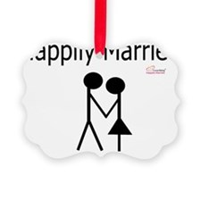 Happily Married Ornament