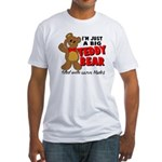 Big Teddy Bear Fitted T-Shirt