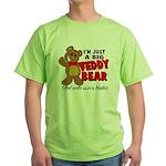 Big Teddy Bear Green T-Shirt