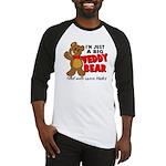 Big Teddy Bear Baseball Jersey