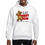 Big Teddy Bear Hooded Sweatshirt