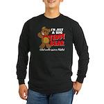 Big Teddy Bear Long Sleeve Dark T-Shirt