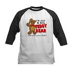 Big Teddy Bear Kids Baseball Jersey