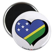 "I Love The Solomon Islands 2.25"" Magnet (100 pack"