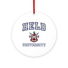HELD University Ornament (Round)