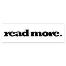 Read More - Bumper Bumper Sticker