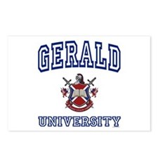 GERALD University Postcards (Package of 8)