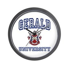 GERALD University Wall Clock
