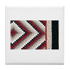 Jackie's Quilt Tile Coaster