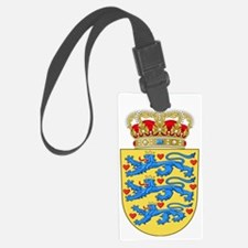 Denmark  Coat of Arms Luggage Tag