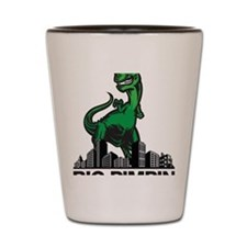 godzilla Shot Glass