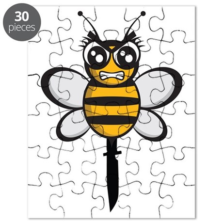 bee knife-stinger Puzzle