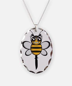 bee knife-stinger Necklace