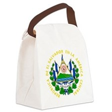 El Salvador  Coat of Arms Canvas Lunch Bag