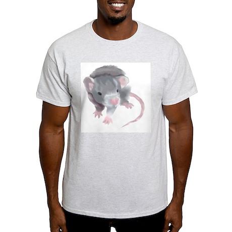 Gray Rat Ash Grey T-Shirt