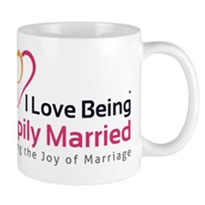 I Love Being Happily Married Mug