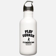 squash cheaper than therapy Water Bottle