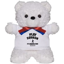 squash cheaper than therapy Teddy Bear