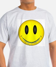 Drooling Happy Face T-Shirt