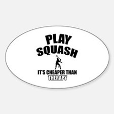 squash cheaper than therapy Decal