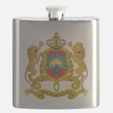 Morocco  Coat of Arms Flask
