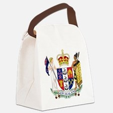 New Zealand  Coat of Arms Canvas Lunch Bag