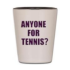 Anyone for tennis? Shot Glass