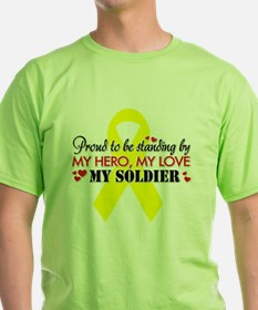 Proudly standing by my Soldier T-Shirt