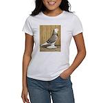 Brown Check Bald West Women's T-Shirt