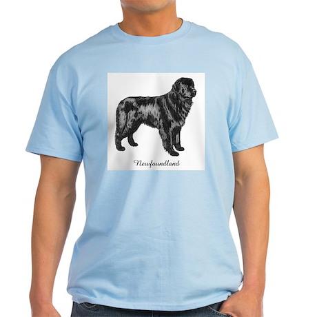 Standing Newf Light T-Shirt