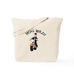 Hog Wild Road Hog Tote Bag