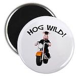 Hog Wild Road Hog Magnet