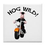 Hog Wild Road Hog Tile Coaster