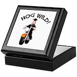 Hog Wild Road Hog Keepsake Box