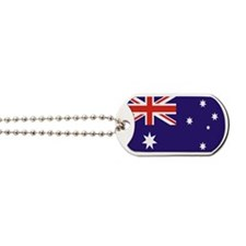 Australian Flag Dog Tags