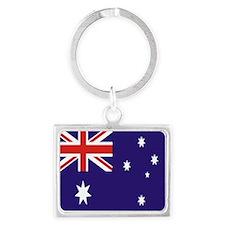 Australian Flag Landscape Keychain
