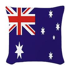 Australian Flag Woven Throw Pillow