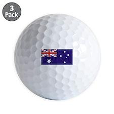 Australian Flag Golf Ball