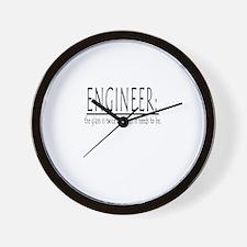 ENGINEER Wall Clock