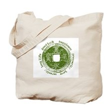 Lucky Japanese Coin Tote Bag