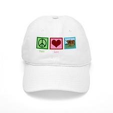 peacelovelonghornswh Baseball Cap