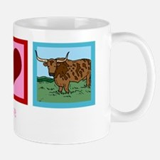 peacelovelonghornswh Mug